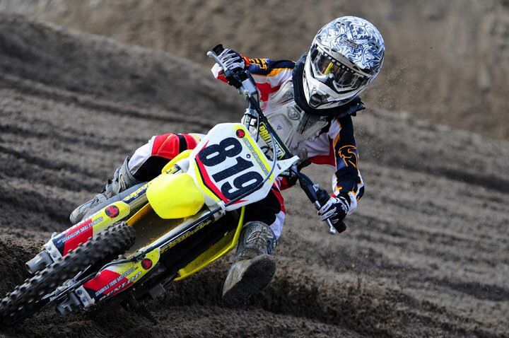 Rider at Seminole Motocross Park