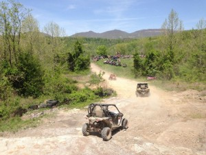 UTVs Trail Riding at Windrock Parks