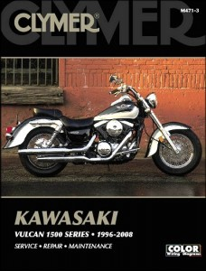 Kawasaki Vulcan 1500 Repair Manual by Clymer